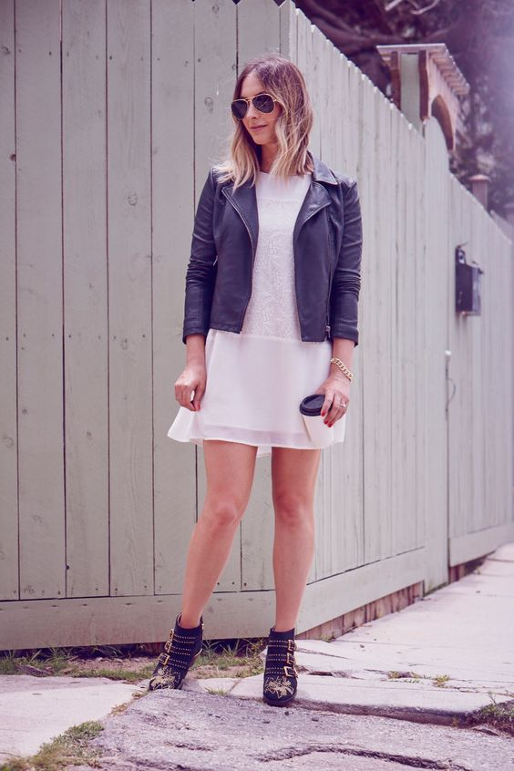 Ivory and Leather