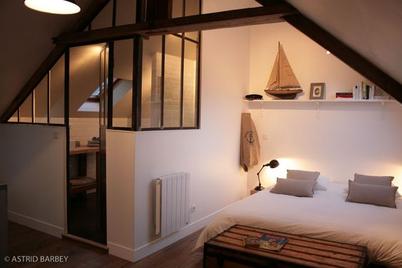 La maison matelot 3 appartements de charme en bord de for Chambre design normandie