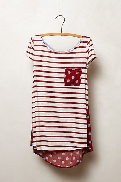 Backstory Tee #anthropologie | Own this shirt in 2 of the spring/summer color & prints. Love the Fall prints.