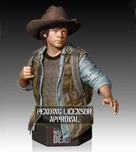 preorder The Walking Dead buste Carl Grime