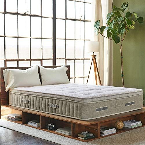 Custom Eco Friendly Non Toxic Platform Bed King Size Custom Bed Organic Bedroom Customised Bed