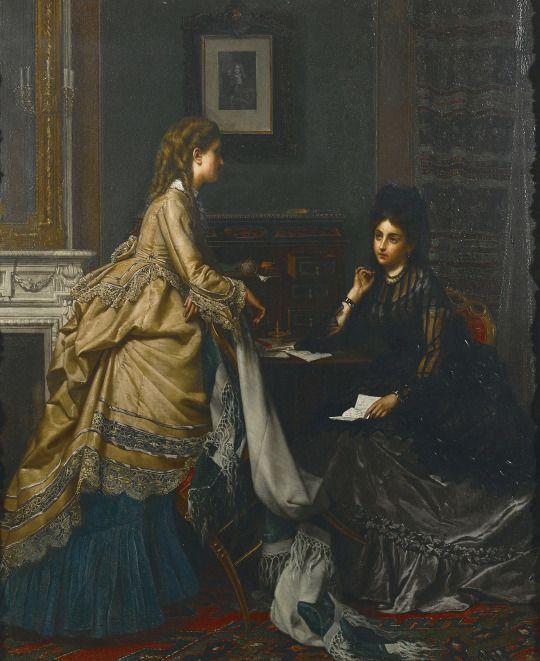 Jan Portielje (1829-1908)     The letter