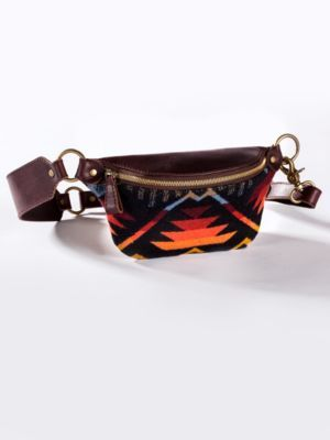 Pendleton Coyote Butte Southwestern Fanny Pack - has to be the coolest fanny pack I've ever seen - would be a good thing to wear to a concert / festival while still looking boho chic