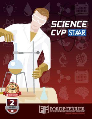 Texas Science CVP STAAR Workbook: Grade 2