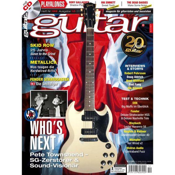 WHO`s next Pete Townshend Fender Stratocaster Teil 2 Metallica 12/16 PPV Medien GmbH, 6,90 €