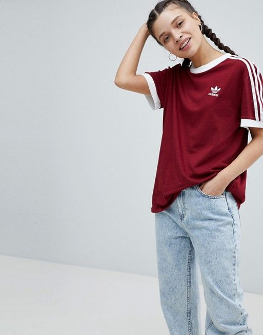 Adidas originals california t shirt imprimé dark green