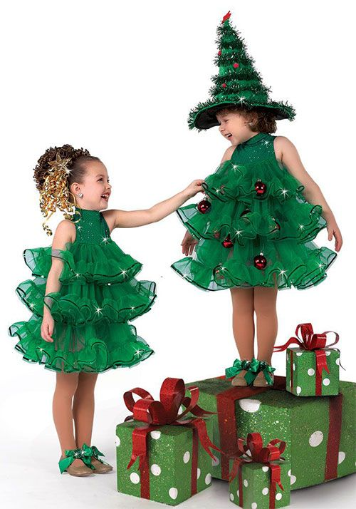 10 home made christmas tree costume ideas for girls amp kids 2014