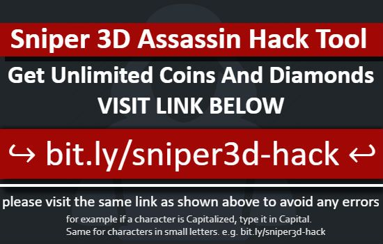 Assassin Roblox Unlimited Coins Hack Sniper 3d Assassin Hack Free Diamonds And Coins No Human Verification 2019 Game Cheats Sniper Cheat Online