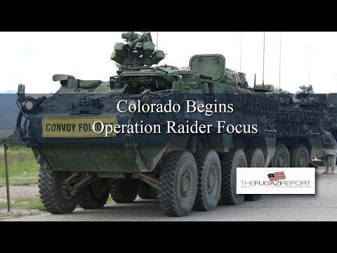 EXCLUSIVE VIDEO: Colorado Troops Begin Raider Focus Moving Towards Trinidad - YouTube