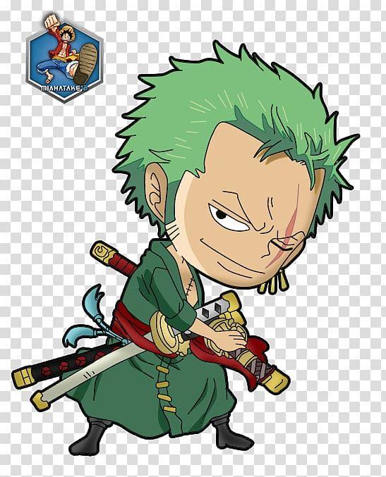 Green Haired One Piece Character Caricature Roronoa Zoro Monkey D Luffy Nami Vinsmoke Sanji Usopp One Piece Chibi Pic Tr Chibi Wallpaper Roronoa Zoro Chibi Chibi one piece desktop background