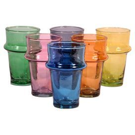 Beldi Glass in Multi (Set of 6)