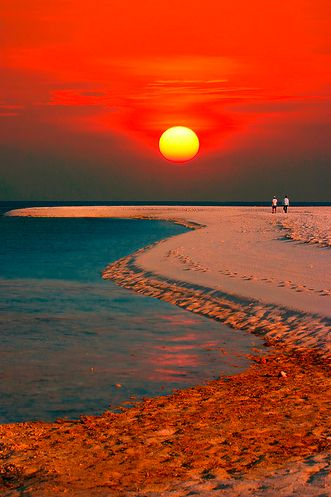 white island sunset Camiguin - The Island Born of Fire