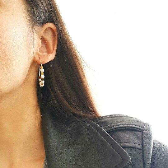 Les boucles d'oreille NAOMI  #elodietrucparis ❤ ➡ www.elodietrucparis.tictail.com +++ Livraison en France métropolitaine OFFERTE à partir de 50 EUR d'achat +++