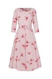 The Rita Dress Hayward Print Pinks