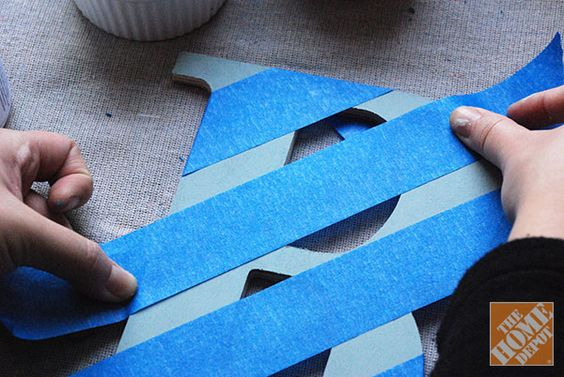 DIY Gift Ideas: Decorated Wooden Letters - The Home Depot - Home ...