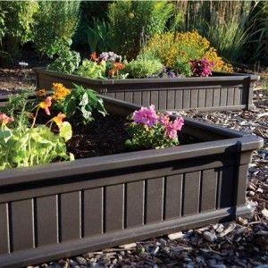 Lifetime 4 Ft X 4 Ft Raised Garden Bed In 2019 Building A Raised