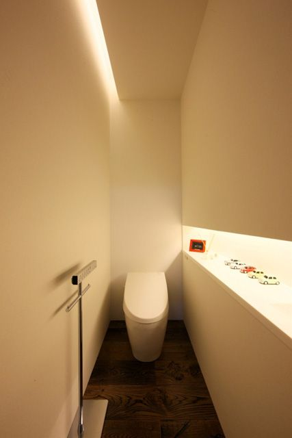 トイレ 間接照明例