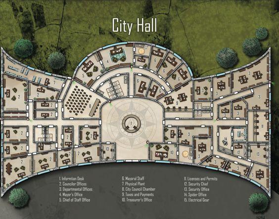 city hall shadowrun floorplan floor plans pinterest town hall bloemendaal next architects archdaily