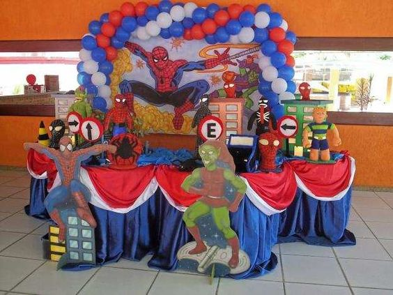 Idea 2 de cumple Spiderman by MundoMab