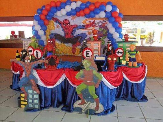 Idea 2 de cumple Spiderman by MundoMab
