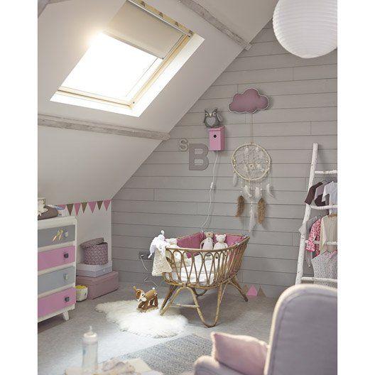 Pour les couleurs de la chambre enfants pinterest pi ces de monnaie et - Chambre bebe mansardee ...