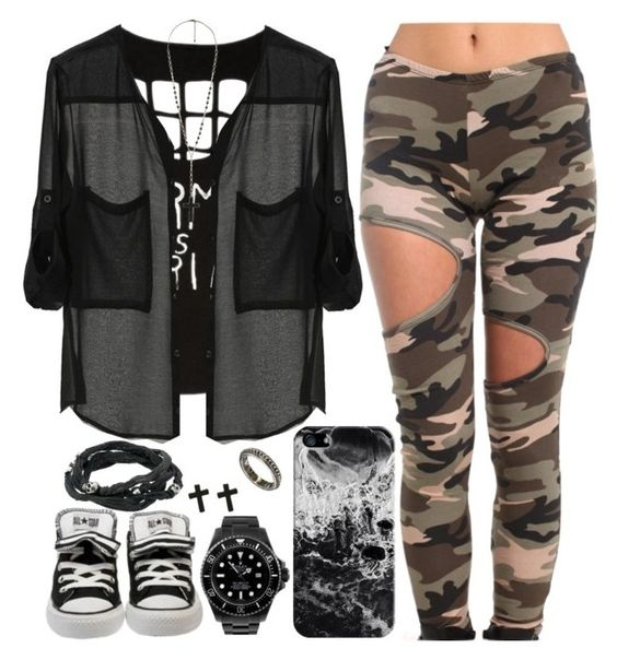"""""""Untitled #472"""" by lo-mackenzie on Polyvore featuring Akira, Casetify, King Baby Studio, Rolex, ASOS and Forever 21"""