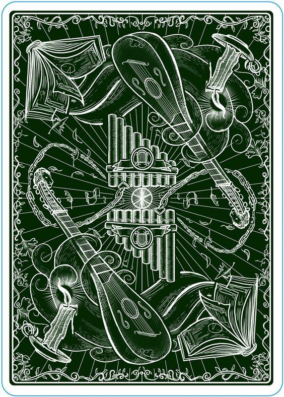 The Name of the Wind Playing Cards by Erik Dahlman — Kickstarter (Kingkiller Chronicle Fan? VISIT https://www.facebook.com/eoliantavern)