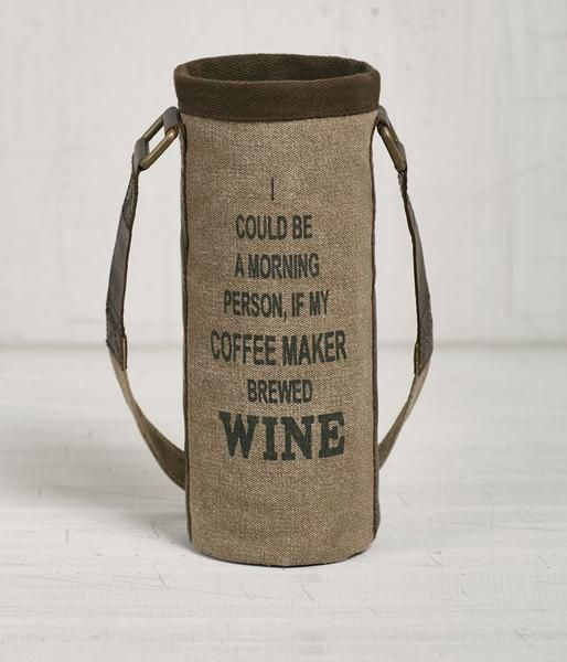 Your wine bottle will be the talk of the party with our popular Better With Age wine carrier bag. Order yours today!