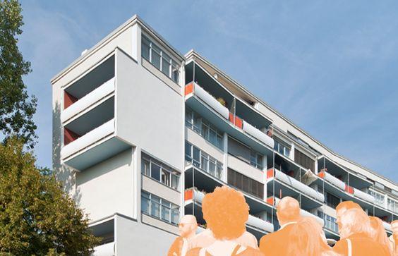 Tag des offenen Denkmals 2016; Hansaviertel, Wohnhaus Händelallee 3/9, 1956-57…