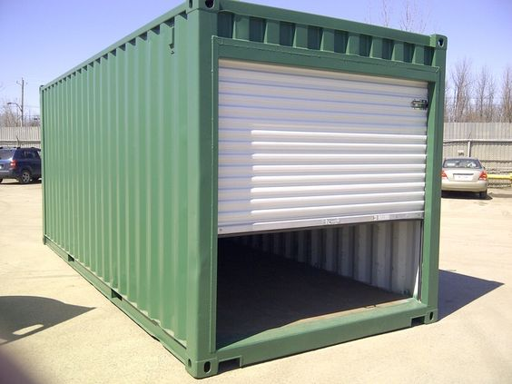 shipping container garage ideas. Black Bedroom Furniture Sets. Home Design Ideas