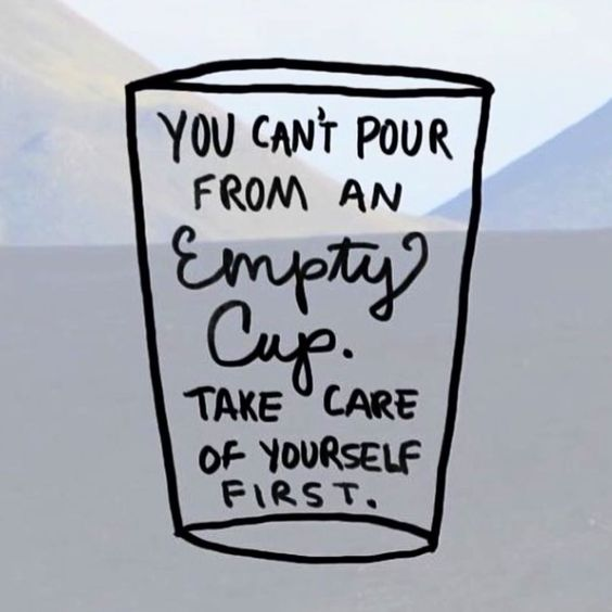 So true!! You must take care of yourself before you can successfully take care of others!!: