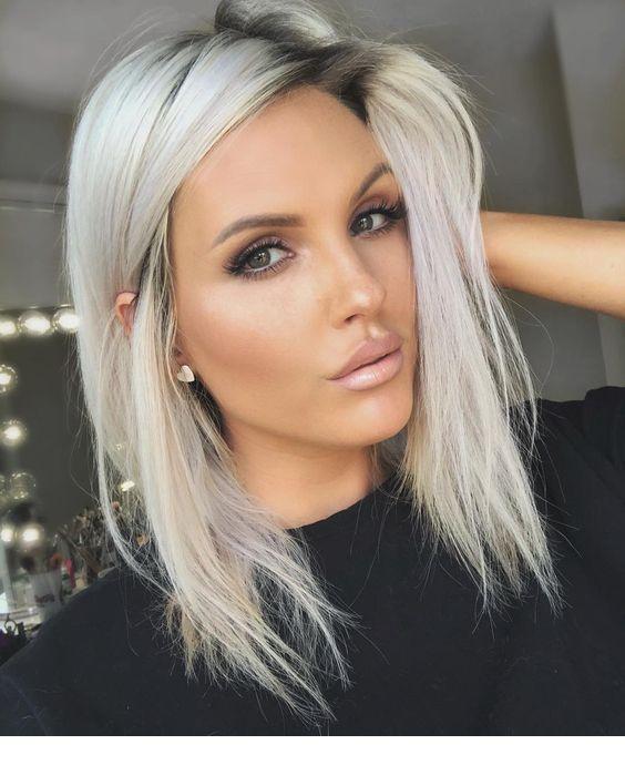 Adorable Look Miladies Net In 2020 Blonde Hair With Roots