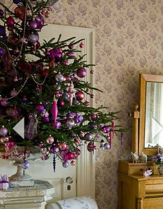 Christmas Tree Decorating Ideas - Pinks and Purples - Click Pic for 22 Beautiful DIY Christmas Decorations