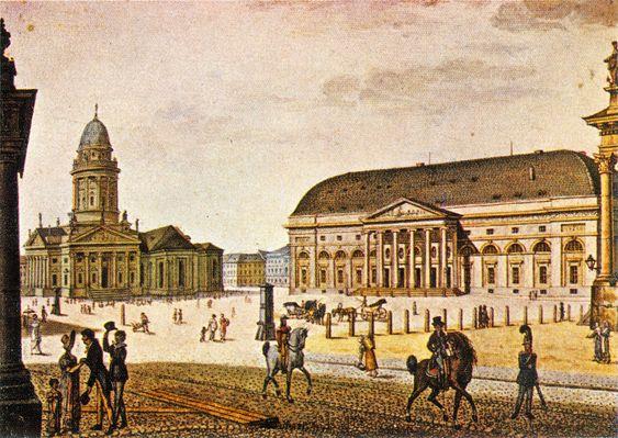 Gendarmenmarkt 1815