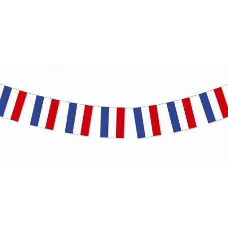 Guirlande Drapeaux Francais De 20 Drapeaux 1 M Deco Vlag Frankrijk