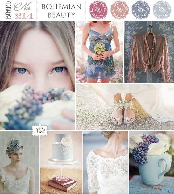 Bohemian Beauty by Magnolia Rouge: Beauty Aqua, 214 Bohemian, Bohemian Beauty, Board Bohemian, Wedding Colors, Bohemian Luxe