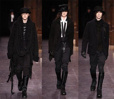 Goth Style Gothic And Men On Pinterest