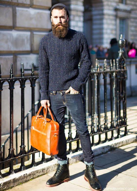 Street Style: Barbudos estilosos