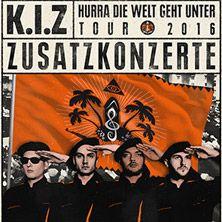K.I.Z: Hurra die Welt geht unter Tour 2016 // 16.07.2016 - 10.09.2016  // 16.07.2016 19:00 DRESDEN/Filmnächte am Elbufer // 20.08.2016 19:00 BERLIN/Kindl-Bühne Wuhlheide // 10.09.2016 18:30 DORTMUND/Westfalenpark Dortmund