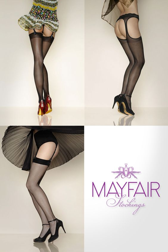 An image of the most popular hosiery from www.MayfairStockings.com