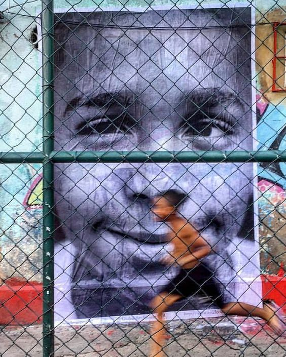 Just received this one from Brazil ! A great @insideoutproject Planeta Ginga -?Project em morro de São Carlos - photo by Christophe Simon #insideoutproject by jr