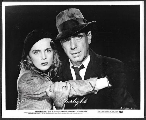 Lizabeth Scott and Humphrey Bogart