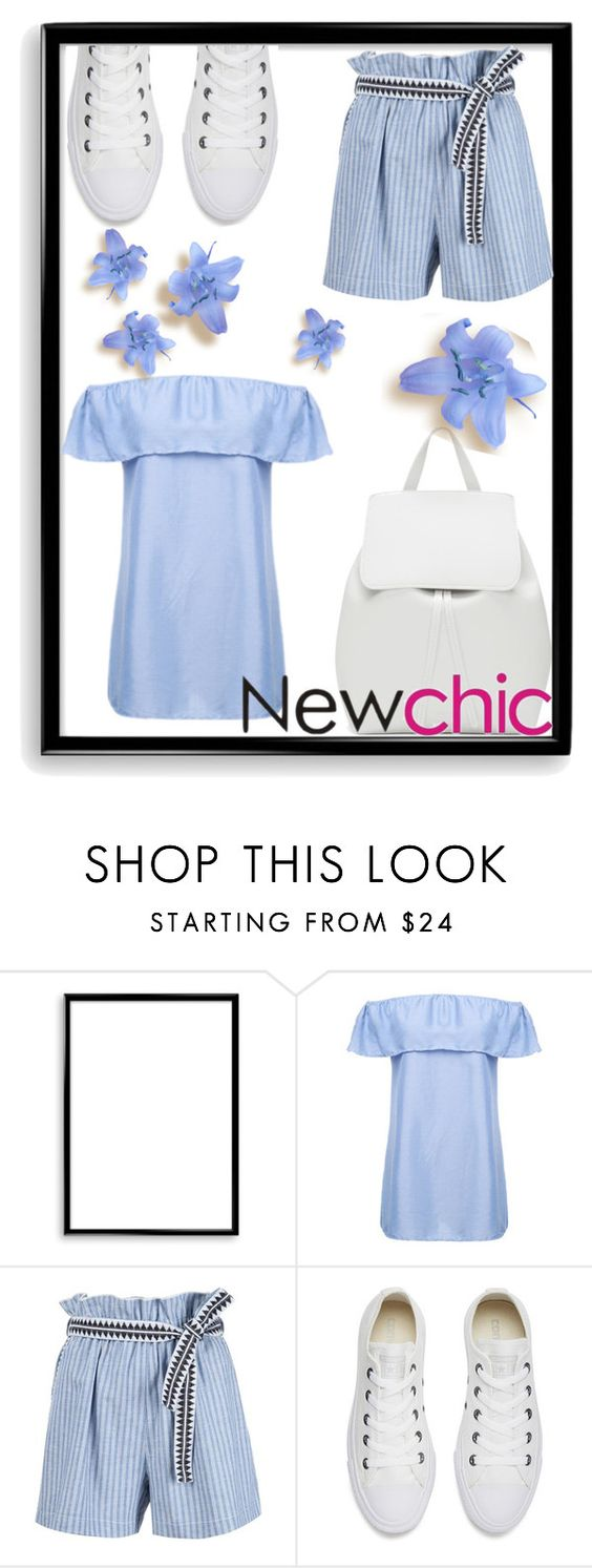 """""""Newchic"""" by mary-thor ❤ liked on Polyvore featuring Bomedo, Lemlem, Converse and Mansur Gavriel"""