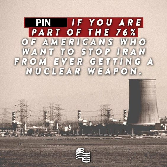 A recent survey conducted for Secure America Now confirmed that 76% of Americans want to stop Iran from ever getting a nuclear weapon. PIN THIS POST if you are part of that overwhelming majority! Learn more here: http://www.secureamericanow.org/february_2015_survey