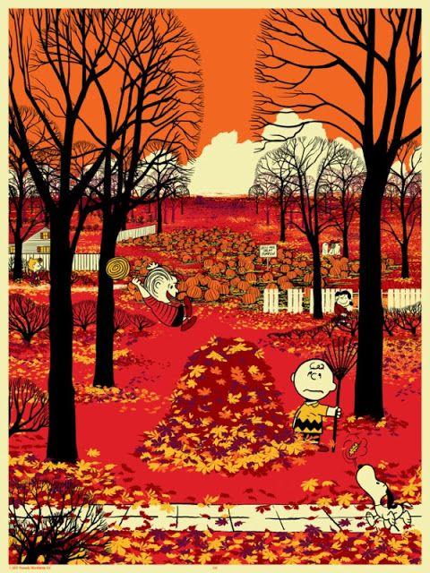 'Peanuts Seasons: Fall' by Chris Thornley (Raid71)