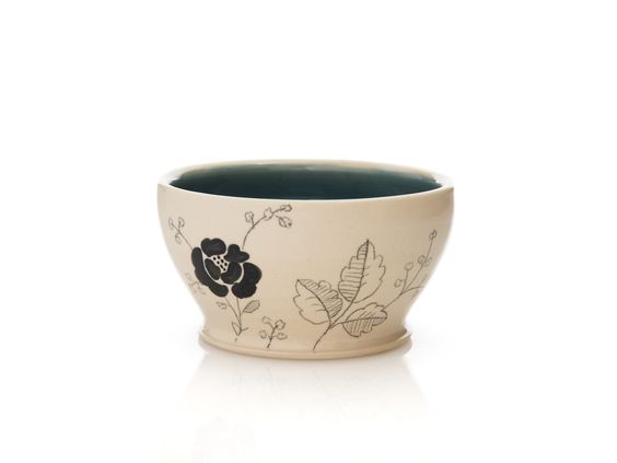 Dulcie Miller Flower Patterned Cereal Bowl These are so pretty