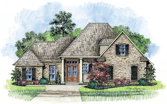 Venice louisiana house plans acadian house plans in my for Louisiana acadian house plans