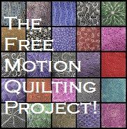 Over 300 free motion quilting patters with video tutorials.