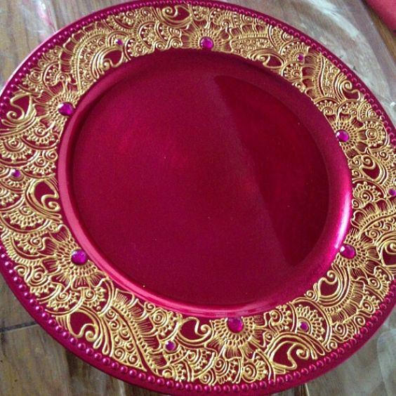 Mehndi Plates Decoration : Pinterest the world s catalog of ideas