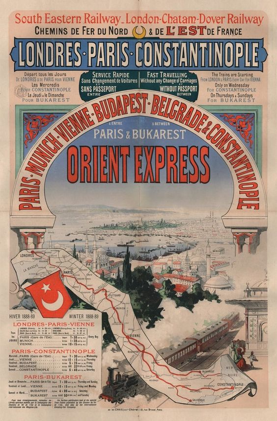 An Illustrated History of the Orient Express | Atlas Obscura